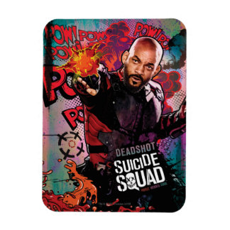 Suicide Squad | Deadshot Character Graffiti Magnet