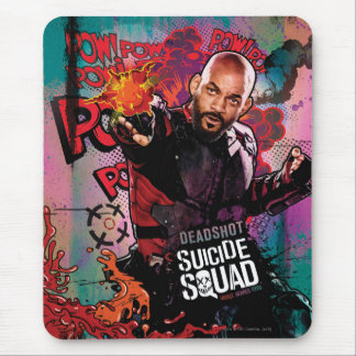 Suicide Squad | Deadshot Character Graffiti Mouse Pad