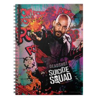 Suicide Squad | Deadshot Character Graffiti Spiral Notebook