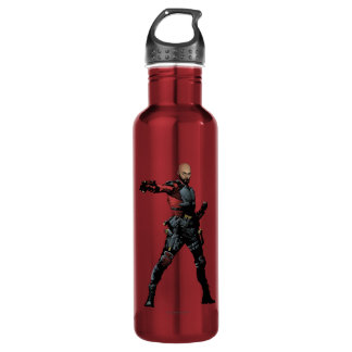 Suicide Squad | Deadshot Comic Book Art 710 Ml Water Bottle