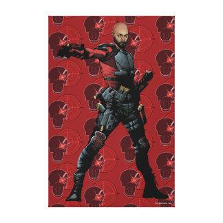 Suicide Squad   Deadshot Comic Book Art Canvas Print