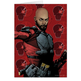 Suicide Squad | Deadshot Comic Book Art Card