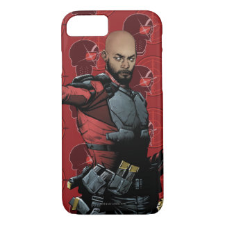 Suicide Squad | Deadshot Comic Book Art iPhone 8/7 Case