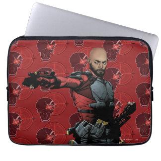 Suicide Squad | Deadshot Comic Book Art Laptop Sleeve
