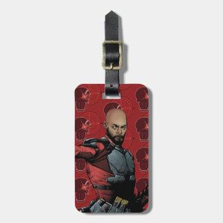 Suicide Squad | Deadshot Comic Book Art Luggage Tag