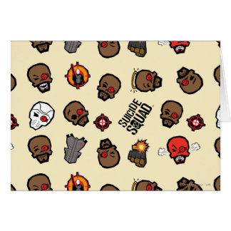Suicide Squad | Deadshot Emoji Pattern Card