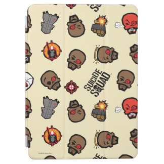 Suicide Squad | Deadshot Emoji Pattern iPad Air Cover