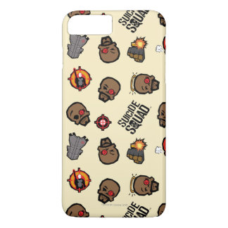 Suicide Squad | Deadshot Emoji Pattern iPhone 8 Plus/7 Plus Case