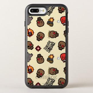 Suicide Squad | Deadshot Emoji Pattern OtterBox Symmetry iPhone 8 Plus/7 Plus Case