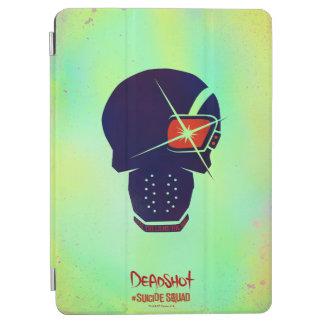 Suicide Squad   Deadshot Head Icon iPad Air Cover
