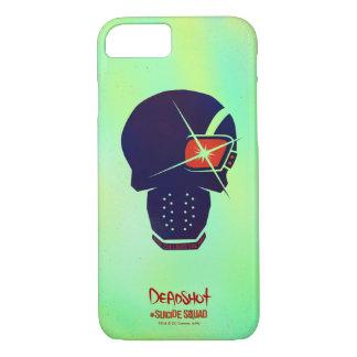 Suicide Squad   Deadshot Head Icon iPhone 8/7 Case