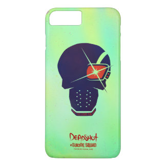 Suicide Squad | Deadshot Head Icon iPhone 8 Plus/7 Plus Case