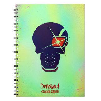 Suicide Squad | Deadshot Head Icon Notebooks