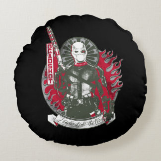 "Suicide Squad | Deadshot ""I am the Light"" Round Cushion"