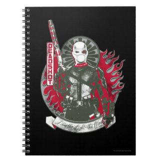 "Suicide Squad | Deadshot ""I am the Light"" Spiral Notebook"