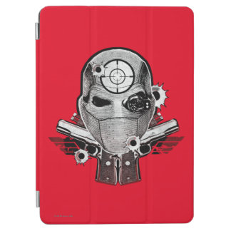 Suicide Squad | Deadshot Mask & Guns Tattoo Art iPad Air Cover