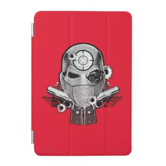 Suicide Squad | Deadshot Mask & Guns Tattoo Art iPad Mini Cover