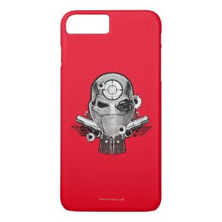 Suicide Squad | Deadshot Mask & Guns Tattoo Art iPhone 8 Plus/7 Plus Case