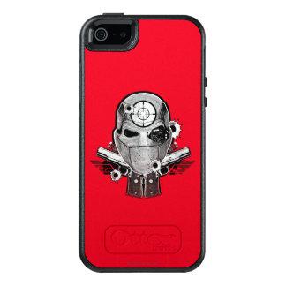 Suicide Squad | Deadshot Mask & Guns Tattoo Art OtterBox iPhone 5/5s/SE Case