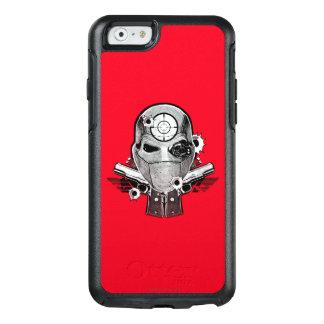 Suicide Squad | Deadshot Mask & Guns Tattoo Art OtterBox iPhone 6/6s Case