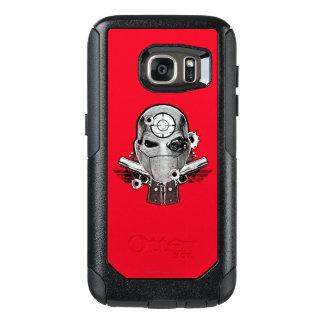 Suicide Squad | Deadshot Mask & Guns Tattoo Art OtterBox Samsung Galaxy S7 Case