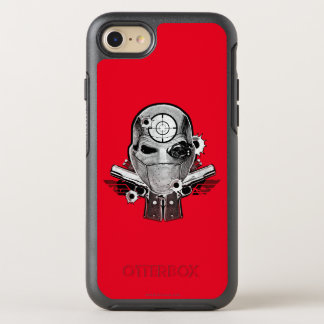Suicide Squad | Deadshot Mask & Guns Tattoo Art OtterBox Symmetry iPhone 8/7 Case