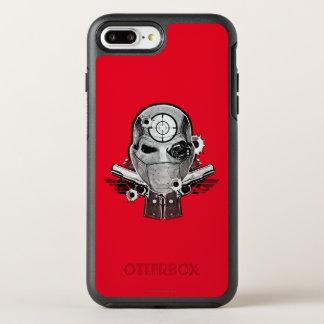 Suicide Squad | Deadshot Mask & Guns Tattoo Art OtterBox Symmetry iPhone 8 Plus/7 Plus Case