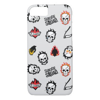 Suicide Squad | Diablo Emoji Pattern iPhone 8/7 Case