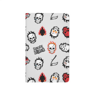 Suicide Squad | Diablo Emoji Pattern Journal