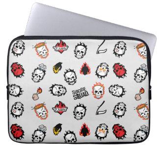 Suicide Squad | Diablo Emoji Pattern Laptop Sleeve