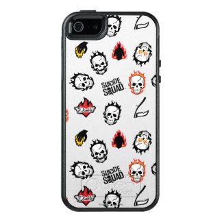 Suicide Squad | Diablo Emoji Pattern OtterBox iPhone 5/5s/SE Case