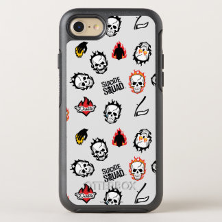 Suicide Squad | Diablo Emoji Pattern OtterBox Symmetry iPhone 8/7 Case