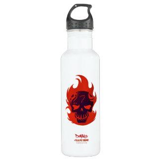 Suicide Squad | Diablo Head Icon 710 Ml Water Bottle