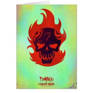 Suicide Squad | Diablo Head Icon Card