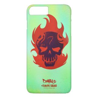 Suicide Squad | Diablo Head Icon iPhone 8 Plus/7 Plus Case