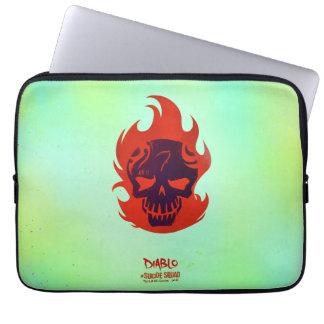 Suicide Squad | Diablo Head Icon Laptop Sleeve