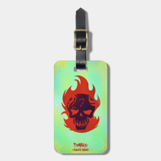 Suicide Squad | Diablo Head Icon Luggage Tag
