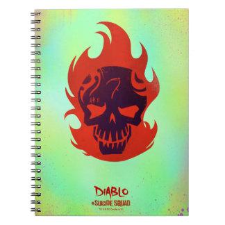 Suicide Squad | Diablo Head Icon Notebooks