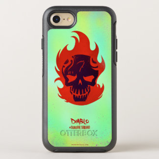 Suicide Squad | Diablo Head Icon OtterBox Symmetry iPhone 8/7 Case
