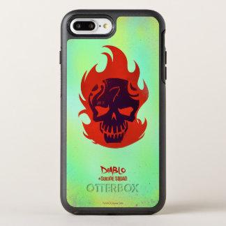 Suicide Squad | Diablo Head Icon OtterBox Symmetry iPhone 8 Plus/7 Plus Case