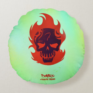Suicide Squad | Diablo Head Icon Round Cushion