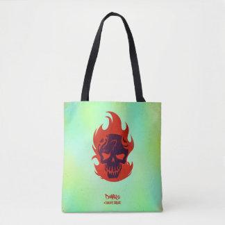 Suicide Squad | Diablo Head Icon Tote Bag