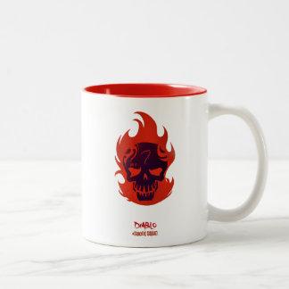 Suicide Squad | Diablo Head Icon Two-Tone Coffee Mug