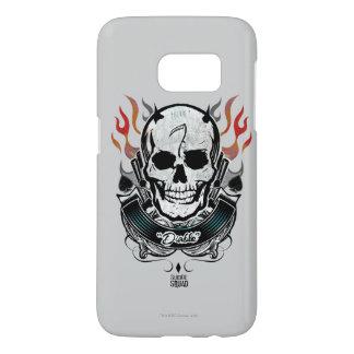 Suicide Squad | Diablo Skull & Flames Tattoo Art
