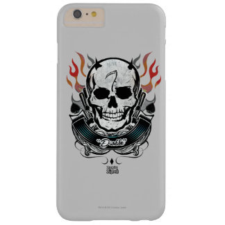 Suicide Squad | Diablo Skull & Flames Tattoo Art Barely There iPhone 6 Plus Case