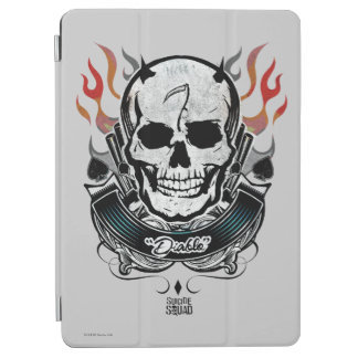 Suicide Squad | Diablo Skull & Flames Tattoo Art iPad Air Cover