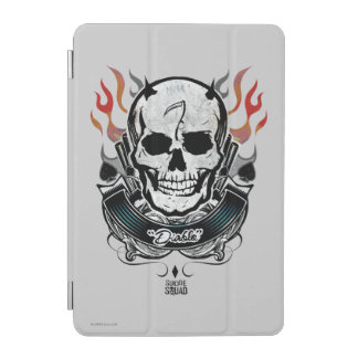 Suicide Squad | Diablo Skull & Flames Tattoo Art iPad Mini Cover