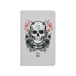 Suicide Squad | Diablo Skull & Flames Tattoo Art Journal