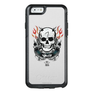 Suicide Squad | Diablo Skull & Flames Tattoo Art OtterBox iPhone 6/6s Case