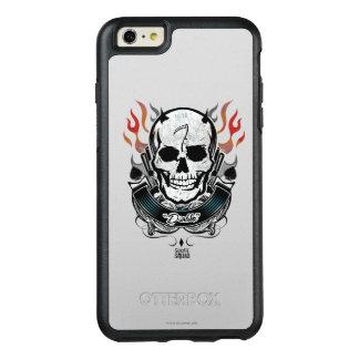 Suicide Squad | Diablo Skull & Flames Tattoo Art OtterBox iPhone 6/6s Plus Case
